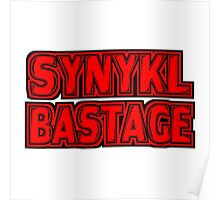 Synykl Bastage Text  Poster