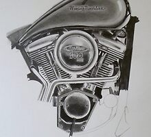 WIP Motorcycle by waynea3