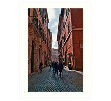 ROME - STREETSCAPE (1)  Art Print