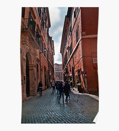 ROME - STREETSCAPE (1)  Poster