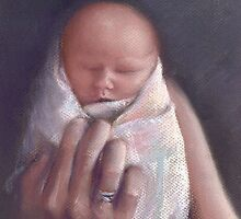 Baby Charlotte by Michelle Gilmore