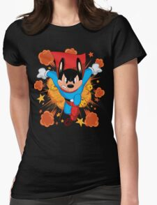 MOUSE OF STEEL Womens Fitted T-Shirt