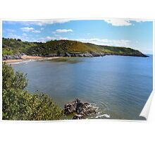Caswell Bay, Gower Peninsula Poster
