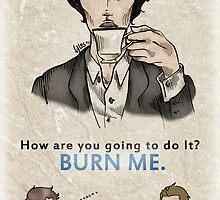 Burning Tea by Vyles