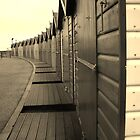 Beach Huts. by AmyAmata