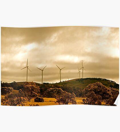Wind Farm Poster