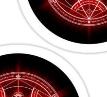 Human Transmutation Circle - Red Sticker