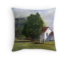 Country Cottage Throw Pillow