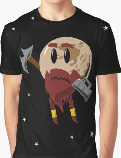 Pluto, the Dwarf Planet Graphic T-Shirt