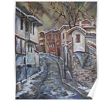 The Old Plovdiv - Winter Day Poster