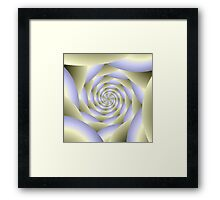 Spiral Tunnel Framed Print