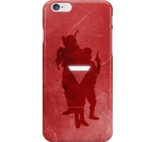 Anonymous 2012 silhouette iPhone Case/Skin