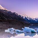 Tasman Glacier Lake - New Zealand by Kimball Chen