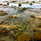 Beach. Rocks. Glassy. by allabouther