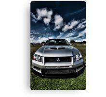 Mitsubishi Lancer Evolution 7 Canvas Print