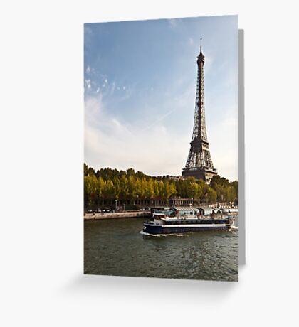 Trip in Paris Greeting Card