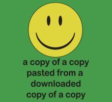 A Copy of a Copy.... Baby Tee