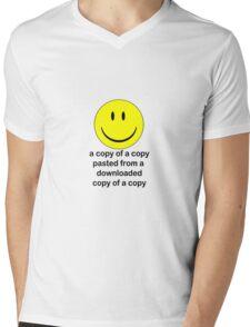 A Copy of a Copy.... Mens V-Neck T-Shirt