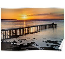 """Sunrise at Point Lonsdale"" Poster"