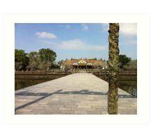 citadel, Ho-Chi Minh city Art Print