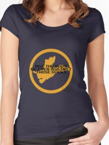 Hunger Games / Duck Hunt Women's Fitted Scoop T-Shirt