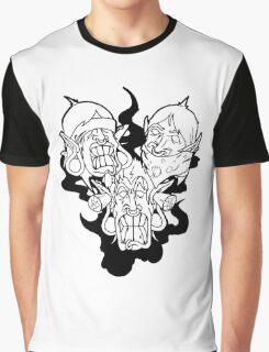 SEE,SPEAK HEAR NO EVIL Graphic T-Shirt