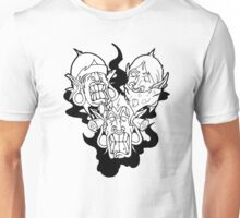 SEE,SPEAK HEAR NO EVIL Unisex T-Shirt