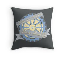 War never Changes! Throw Pillow