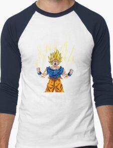 Dragon Ball Just Saiyan Men's Baseball ¾ T-Shirt