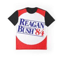 REAGAN/BUSH 1984 Graphic T-Shirt