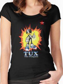 I.T HERO - TuxSonic Women's Fitted Scoop T-Shirt