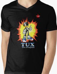 I.T HERO - TuxSonic Mens V-Neck T-Shirt