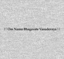 Om Namo Bhagavate Vasudevaya Kids Clothes
