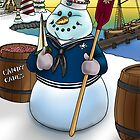 Sailor Snowman by abbottoons