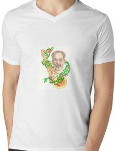 Jazz Man Mens V-Neck T-Shirt