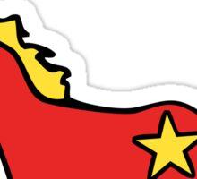 Communicorn (Communist Unicorn) Sticker