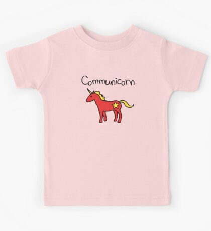 Communicorn (Communist Unicorn) Kids Tee