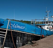 Monaco in Stornoway Harbour by Kasia-D