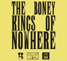 The Boney Kings of Nowhere -Black One Piece - Short Sleeve