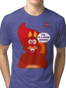 GeekGirl - Squirrel Tri-blend T-Shirt