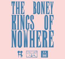 The Boney Kings of Nowhere -Blue by Aaran Bosansko