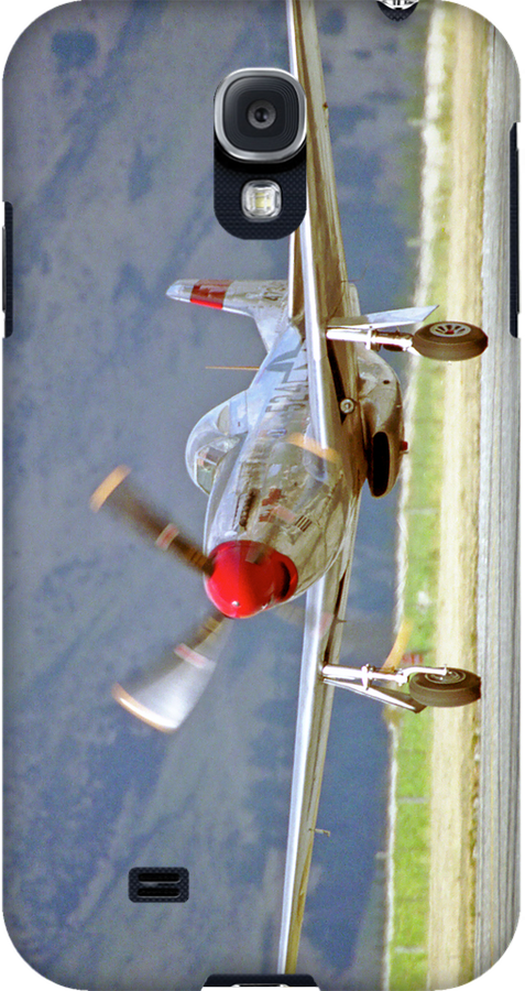 """P51 Mustang """"Cadillac of the skies"""" - iPhone/iPod case by Anthony Woolley"""