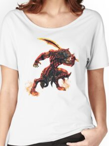 War Within Fire Wolf Women's Relaxed Fit T-Shirt