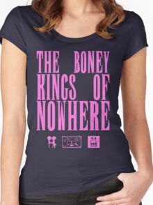 The Boney Kings of Nowhere -Pink Women's Fitted Scoop T-Shirt