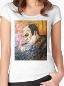 Tony Soprano 4 Women's Fitted Scoop T-Shirt