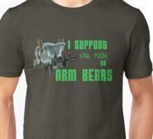I Support the Right to Arm Bears, Koala Bears Unisex T-Shirt