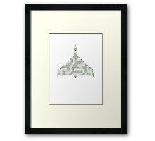 PIXEL8 | Vulcan Bomber | XH558 Framed Print