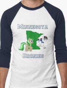 Minnesota Bronies Men's Baseball ¾ T-Shirt
