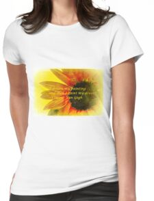 I Dream My Painting Vincent Van Gogh Womens Fitted T-Shirt