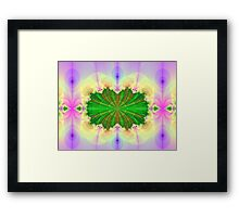 Fractal Cavity Framed Print